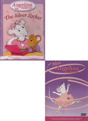 Angelina Ballerina - Meet Angelina Ballerina/The Silver Locket (2 pack)
