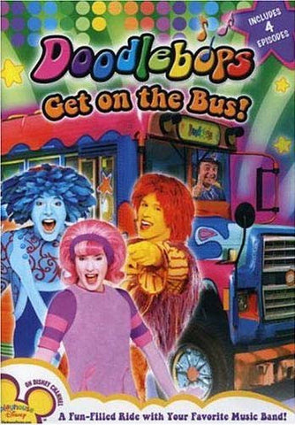 Doodlebops - Get On The Bus DVD Movie