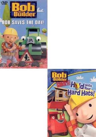 Bob The Builder - Bob Saves The Day!/Hold ON TO Your Hard Hats! (2 Pack) DVD Movie