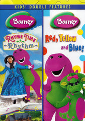 Barney (Rhyme Time Rhythm/Red, Yellow, and Blue) (Double Feature)