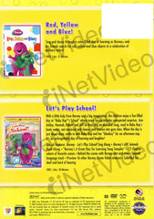 Barney (Red, Yellow, And Blue!/Let's Play School!) (Double Feature)
