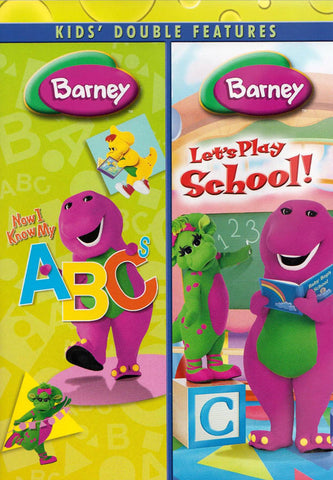 Barney (Now I Know My ABCs/Let s Play School) (Double Feature) (MAPLE) DVD Movie