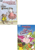 Angelina Ballerina - The Lucky Penny / Angelina Ballerina - Lights, Camera, Action! (2 Pack) DVD Movie