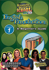 Standard Deviants School - English Punctuation, Program 1 - A Beginner's Guide (Classroom Edition)