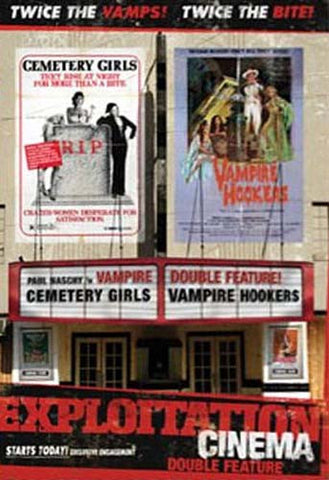 Exploitation Cinema: Cemetery Girls/ Vampire Hookers DVD Movie