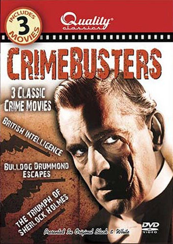 Crimebusters - 3 Classic Crime Movies DVD Movie