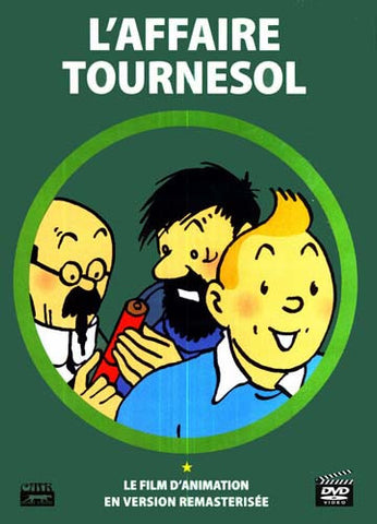 L'Affaire Tournesol (Les Aventures De TinTin) (Remasterisee Version) DVD Movie