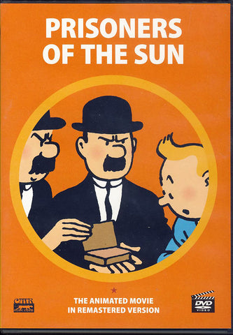 Prisoners Of The Sun (The Adventures Of TinTin) (Remastered Version) DVD Movie