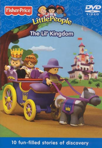 Fisher Price - Little People - The Lil' Kingdom DVD Movie
