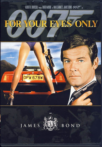 For Your Eyes Only (James Bond) DVD Movie