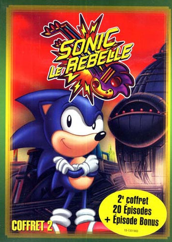 Sonic - Le Rebelle - Season 2 (Vol.1 - 2 - 3) (Boxset) DVD Movie
