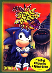 Sonic - Le Rebelle - Season 2 (Vol.1 - 2 - 3) (Boxset)