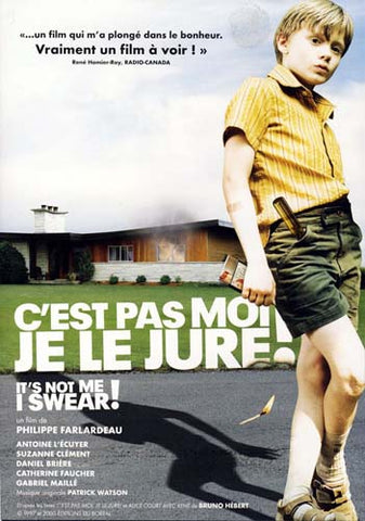 C est pas moi je le jure (It s Not Me, I Swear!) DVD Movie