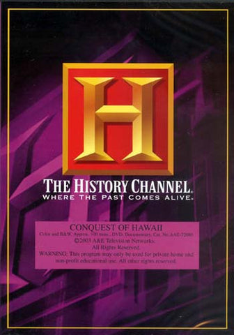 Conquest of Hawaii - The History Channel DVD Movie