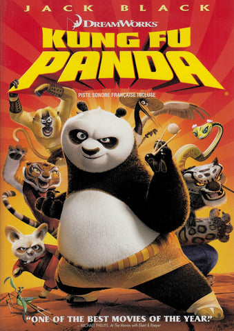 Kung Fu Panda (Widescreen Edition) (Bilingual) (Red Cover) DVD Movie