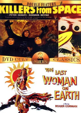 Killers from Space / Last Woman on Earth (Double Feature) DVD Movie