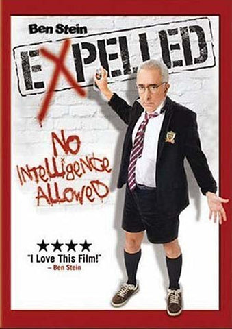 Expelled - No Intelligence Allowed DVD Movie