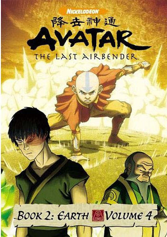 Avatar - The Last Airbender - Book 2 Earth - Vol. 4 DVD Movie