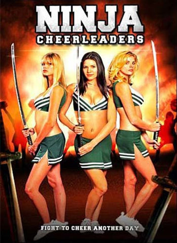 Ninja Cheerleaders DVD Movie