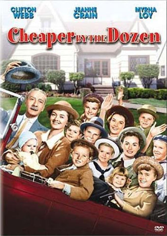 Cheaper By the Dozen (Clifton Webb) DVD Movie
