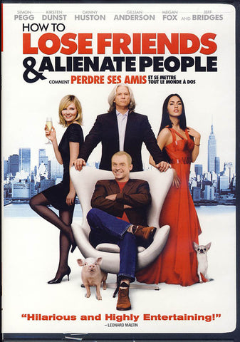 How To Lose Friends And Alienate People (MGM) (Bilingual) DVD Movie