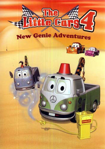 Little Cars - Vol. 4 - New Genie Adventures DVD Movie