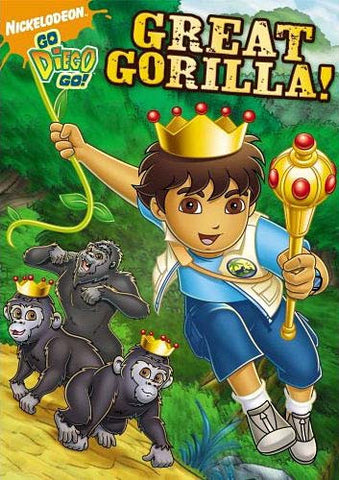 Go Diego Go!: Great Gorilla! DVD Movie