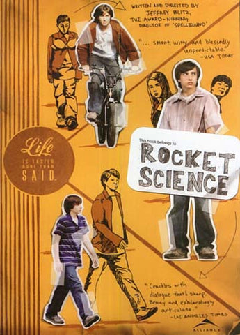 Rocket Science DVD Movie