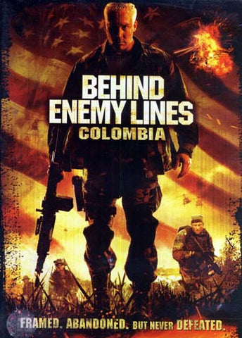 Behind Enemy Lines - Colombia DVD Movie