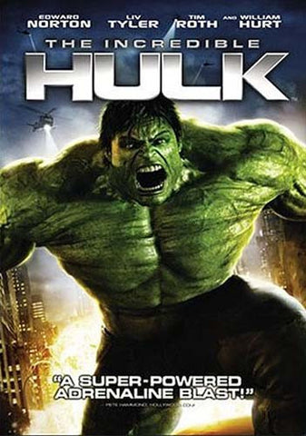 The Incredible Hulk (Widescreen Edition) (Bilingual) DVD Movie