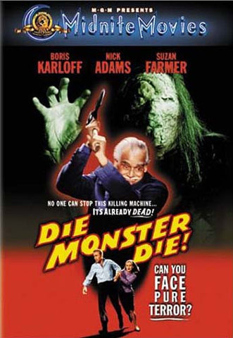 Die, Monster, Die DVD Movie
