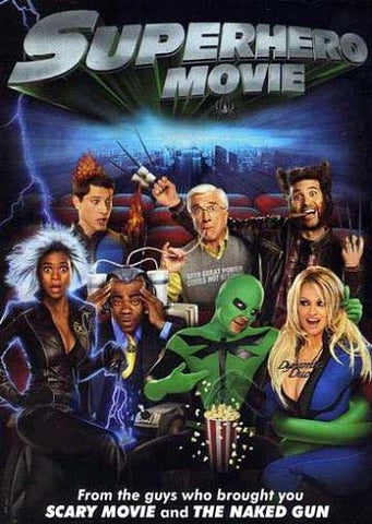 Superhero Movie(Bilingual) DVD Movie