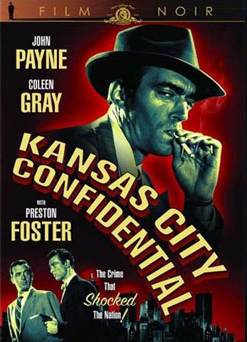 Kansas City Confidential (Film Noir) DVD Movie