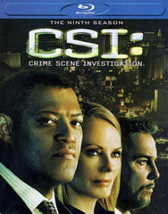 CSI - Crime Scene Investigation - The Ninth Season (Blu-ray)