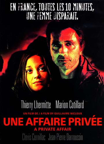 Une Affaire Privee /A Private Affair DVD Movie