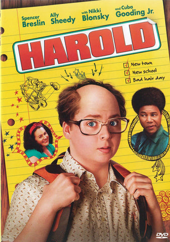 Harold DVD Movie