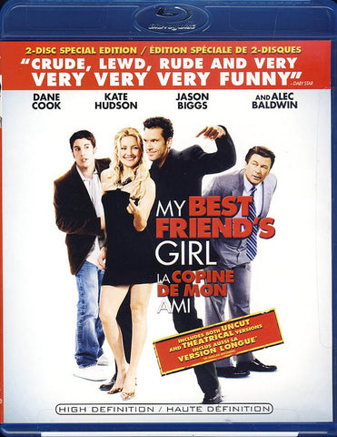 My Best Friend's Girl (Uncut and Theatrical Version) (Special Edition) (Blu-ray) BLU-RAY Movie