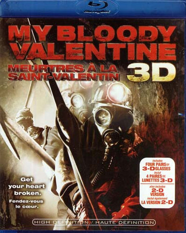 My Bloody Valentine (Included 3D Glasses and 2-D Version With Digital Copy) (Bilingual) (Blu-ray) BLU-RAY Movie