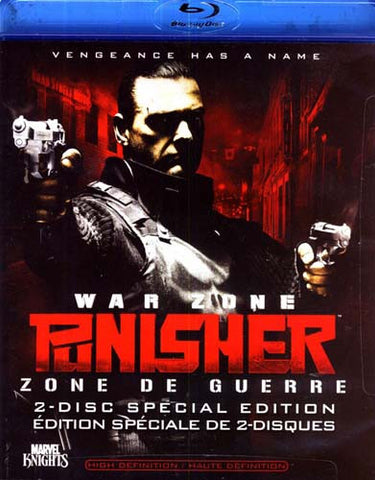 Punisher - War Zone (2-Disc Special Edition With Digital Copy) (Blu-ray) BLU-RAY Movie