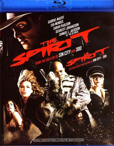 The Spirit (2 Disc With Digital Copy) (Bilingual) (Blu-ray) (USED) BLU-RAY Movie