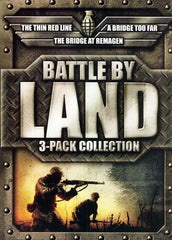 Battle by Land Movie Collection (Bridge At Remagen / Bridge Too Far / Thin Red Line) (Boxset)