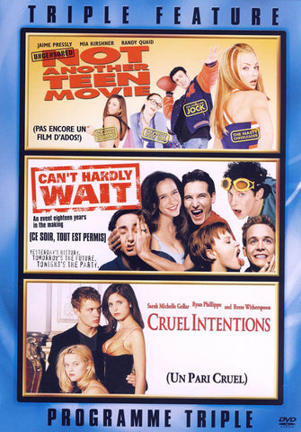 Not Another Teen Movie / Can t Hardly Wait / Cruel Intentions (Bilingual) DVD Movie