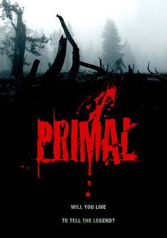 Primal DVD Movie