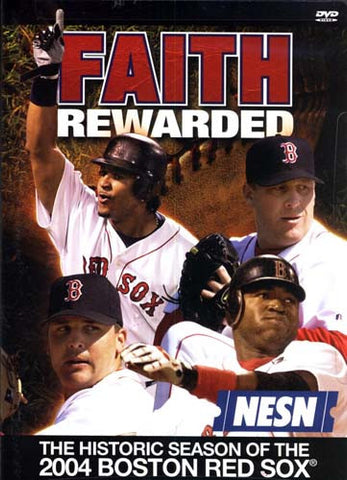 Faith Rewarded - The Historic Season of the 2004 Boston Red Sox DVD Movie