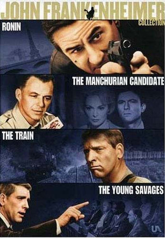 The John Frankenheimer Collection (Ronin / Manchurian Candidate / Train / Young Savages) (Boxset) DVD Movie