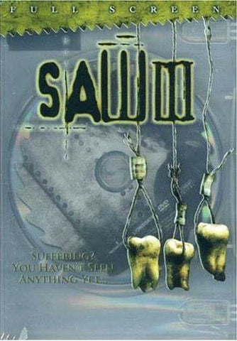 Saw III (Rated Full Screen Edition) DVD Movie