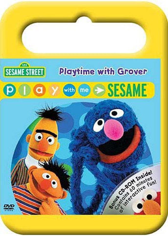 Playtime with Grover - Play with Me Sesame - (Sesame street) DVD Movie