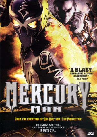 Mercury Man DVD Movie
