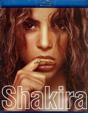 Shakira - Oral Fixation Tour (With Bonus CD) (Blu-ray) BLU-RAY Movie