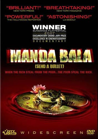 Manda Bala (Send a Bullet) DVD Movie